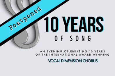 Vocal Dimension presents 10 years of song