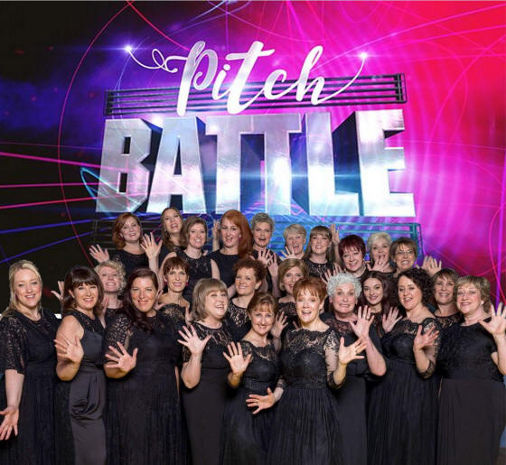 Vocal Dimension are in Pitch Battle on BBC One!