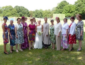 Wedding Singers - Shelley, Paul and their guests welcomed us to join the rest of their wonderful day